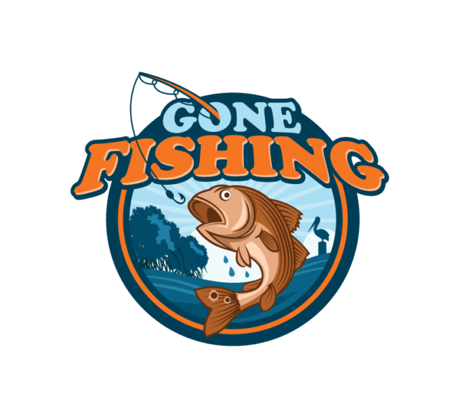 Logo - Gone Fishing Network