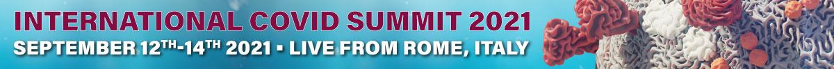Banner - International Covid Summit 2021